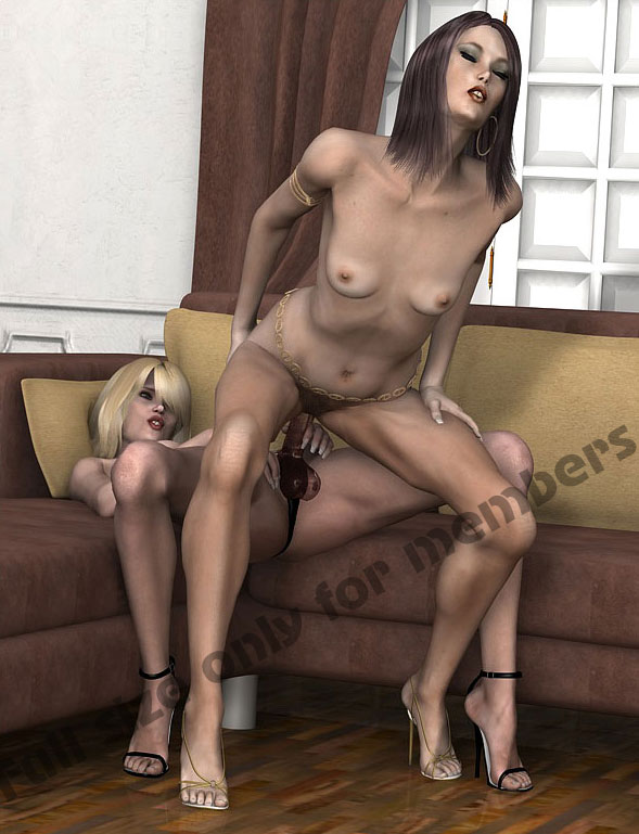 Absolutely not mature strap on lesbians join
