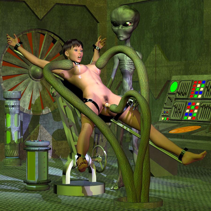 Секс с инопланетянами 3d